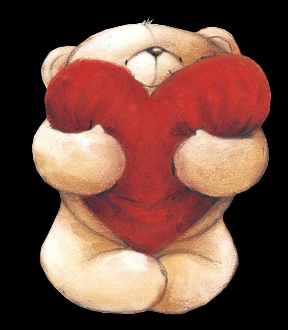 Картинки мишка с сердцем